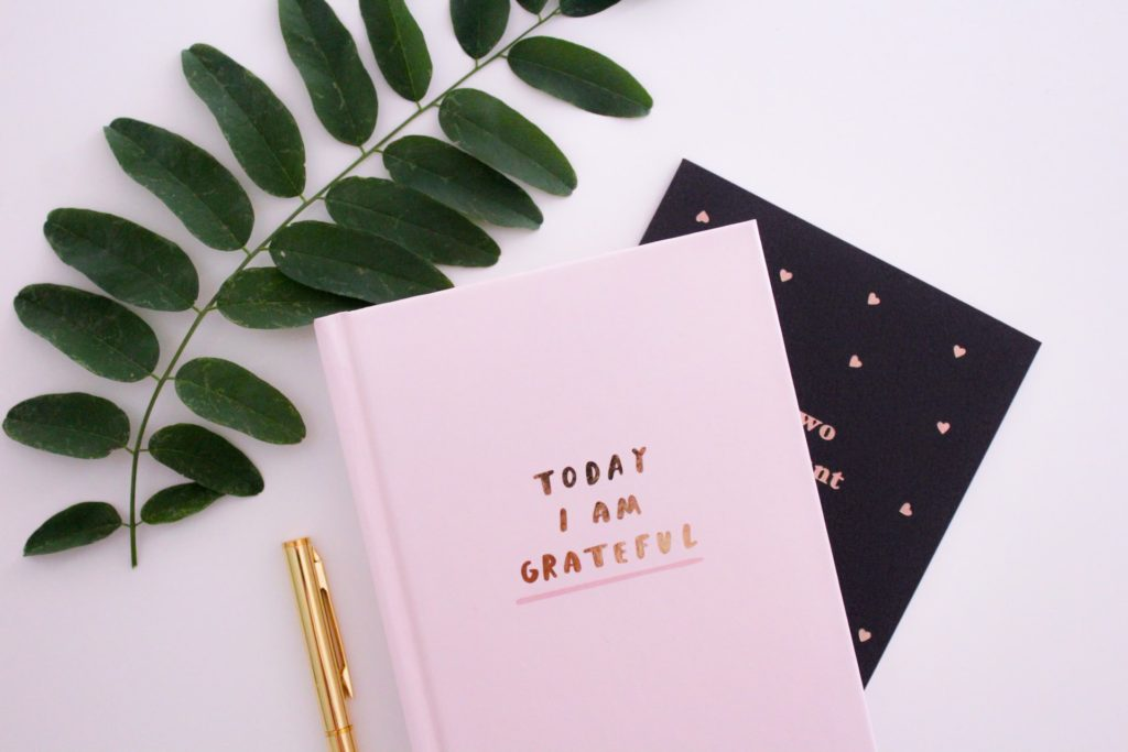 """Journal that says """"Today I am Grateful"""""""